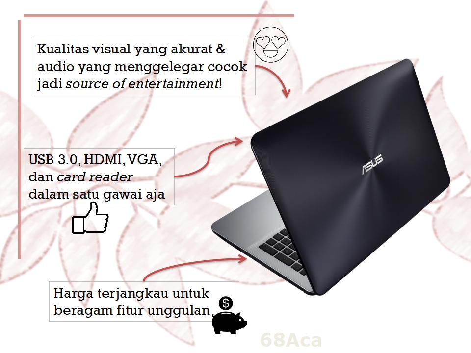 Keunggulan Notebook ASUS X555 Series