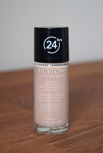 revlon colorstay combination oily foundation review