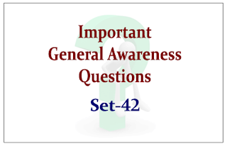 SBI PO Exam 2015- Important General Awareness Questions