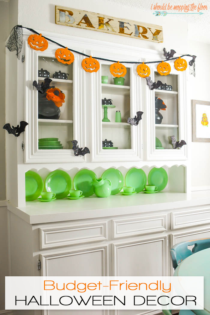 Budget-Friendly Halloween Decor   Loads of fun touches for fall and Halloween that are perfect for any budget.