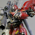 "Painted Build: MG 1/100 MSN-06S Sinanju ""Half Clear"""