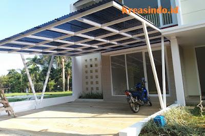 Harga Macam-Macam Canopy Besi Minimalis Terbaru