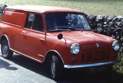 1972 Mini Van in BMC Flame Red