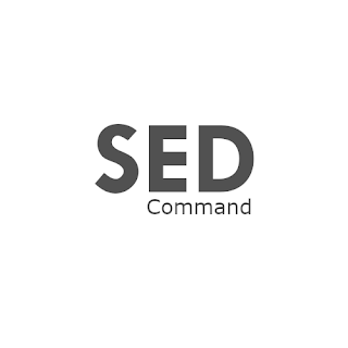sed command line linux