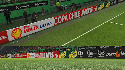 PES 2019 Adboards Chilean League Campeonato Scotiabank 2018/2019 by BenjaDiaz