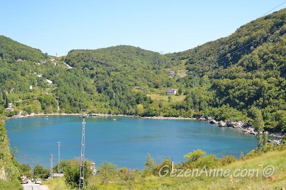 doğa ile iç içe tatil için Karadeniz, Gideros Koyu Cide