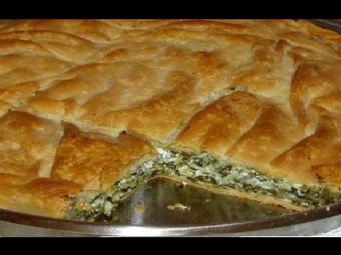 Pie (Byrek) with 12 herb - Bektashi Nevruz day