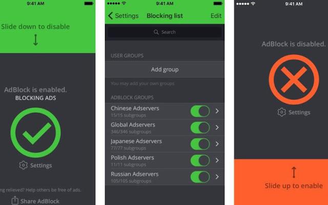 Inilah Cara Download 5 Pemblokir Iklan Terbaik Untuk iOS 4