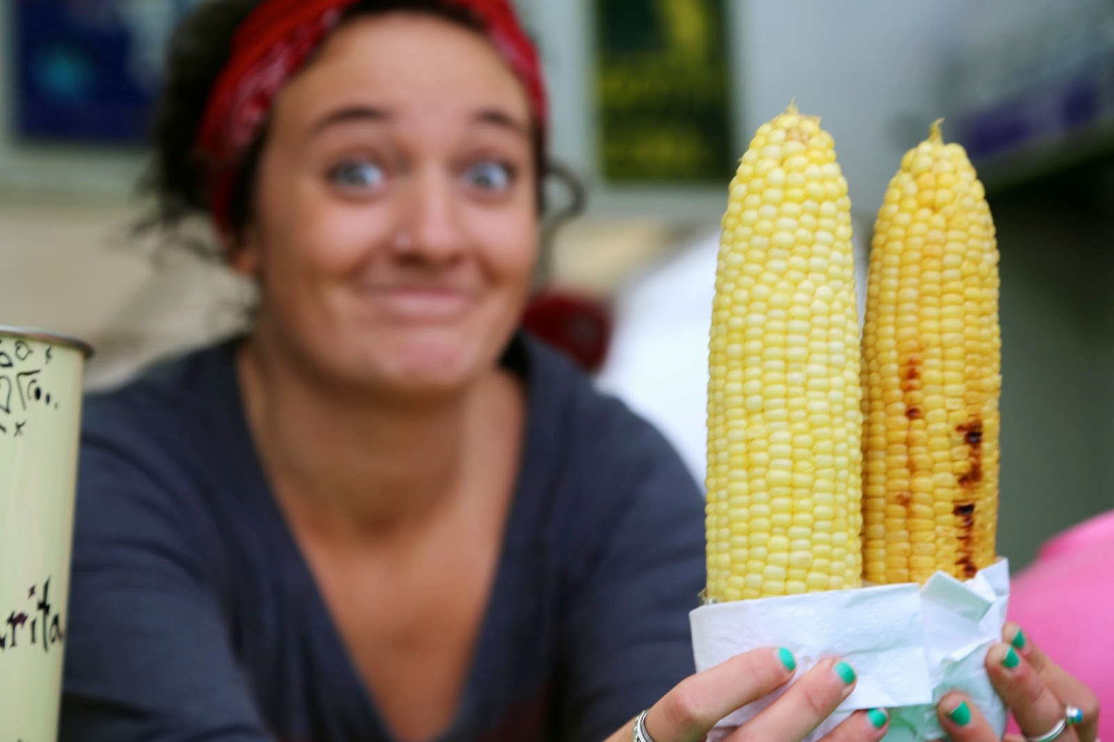 Corn on a cob, Alaska State Fair
