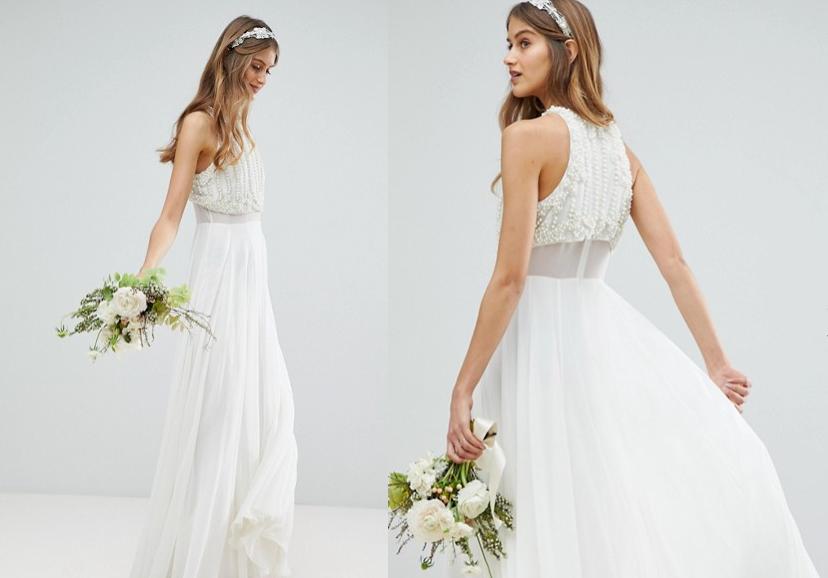 Vestidos de novia menos blanco