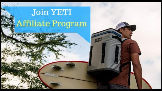 YETI affiliate program on Amazon