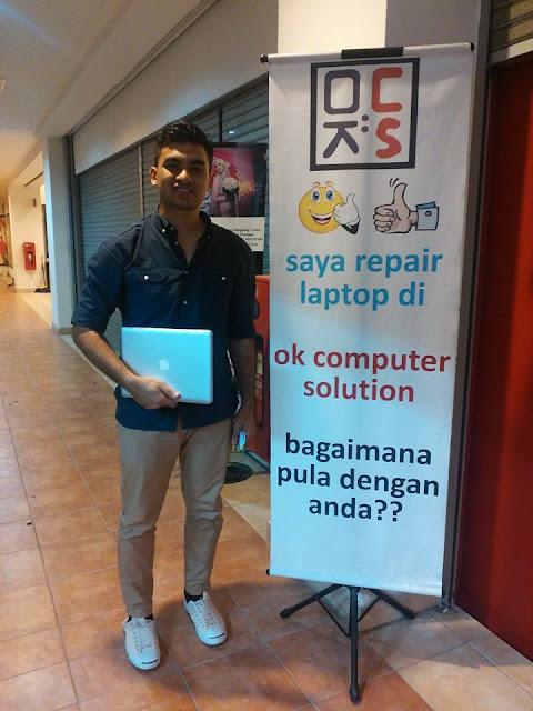 [SOLVED] MACBOOK NO ENTRY SIGN | KEDAI REPAIR MACBOOK 19