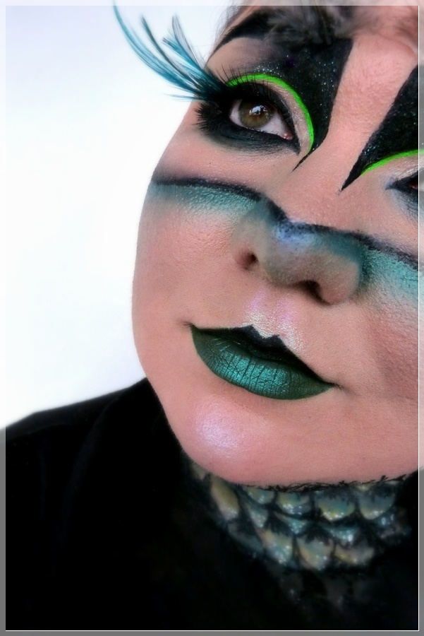 Augurey Harry Potter und das verwunschene Kind makeup
