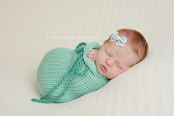 Newborn Swaddle Sack Photography Prop Baby Photo Props