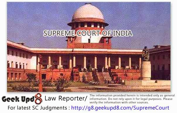Supreme Court of India - Suicide by Bride 306 IPC - Allegation of harassment against Husband - Every quarrel between a husband and wife which results in a Suicide cannot be taken as an Abetment