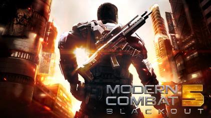 Modern Combat 5: Blackout - Game android HD Grafik terbaik 2017