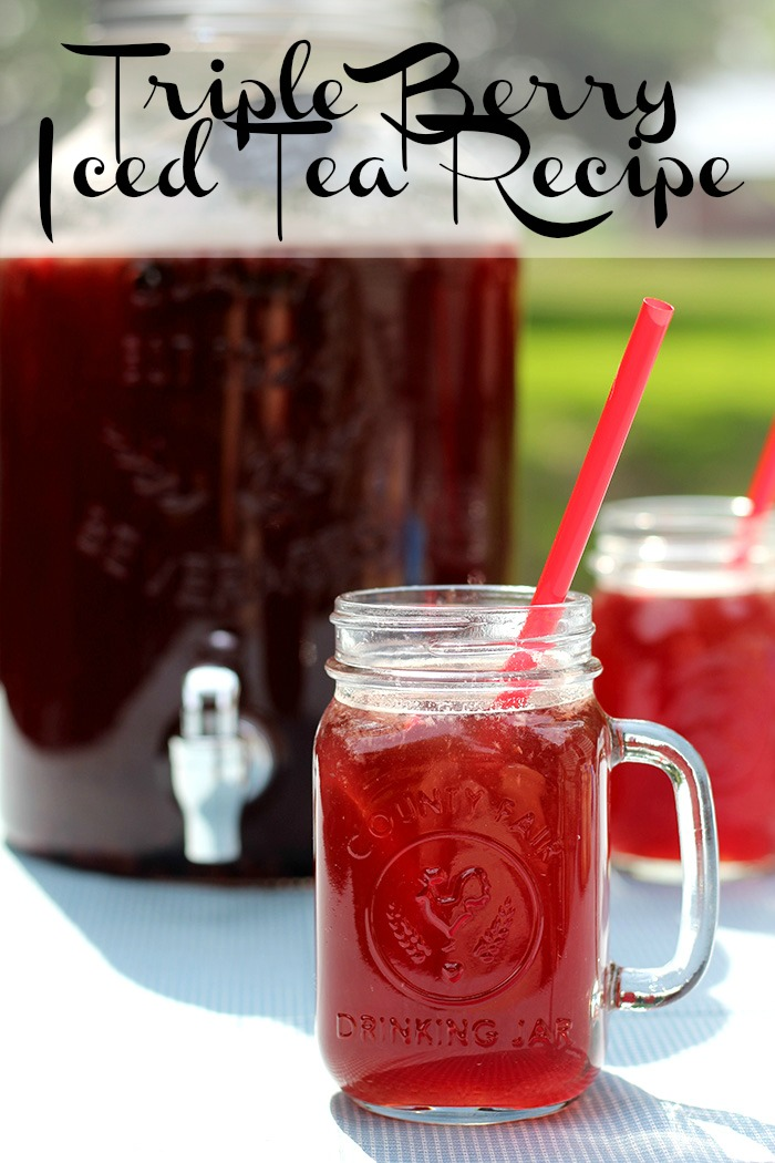 Triple Berry Iced Tea Recipe
