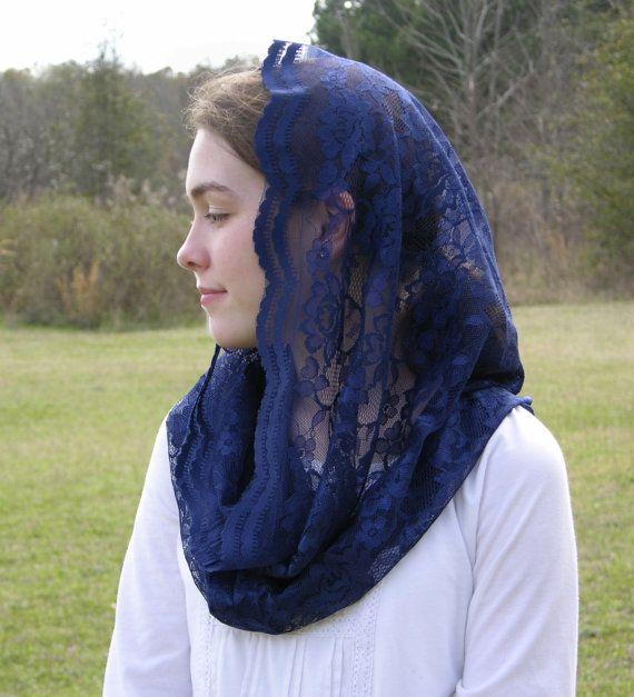 Véu e mantilha modelos, quando usar, véu azul