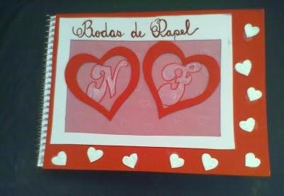 Antes do Positivo  Dica para bodas de papel (1 ano de casamento) 1ebd606b85e4