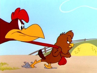 foghorn leghorn chicken hawk - Foghorn Leghorn***Henhouse Henery (1949) WB Video Dailymotion