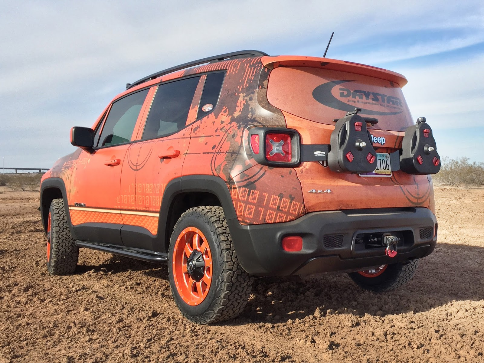 jeep renegade gets some serious off road parts subcompact culture the small car blog. Black Bedroom Furniture Sets. Home Design Ideas