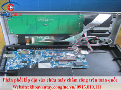 dịch vụ sửa chữa máy chấm công giá rẻ trên toàn quốc