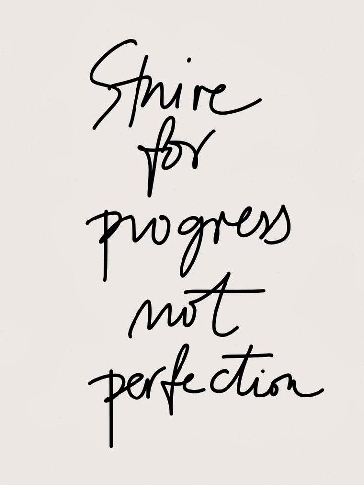 Live Well. Live Happy. : Progress not Perfection...