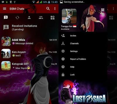 BBM MOD Lost Saga v3.0.1.25 Terbaru 2016