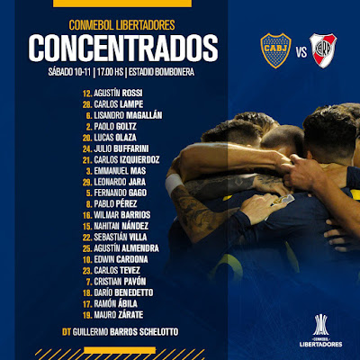 Boca Juniors - River Plate: schedule and where to watch the final of the Copa Libertadores 2018