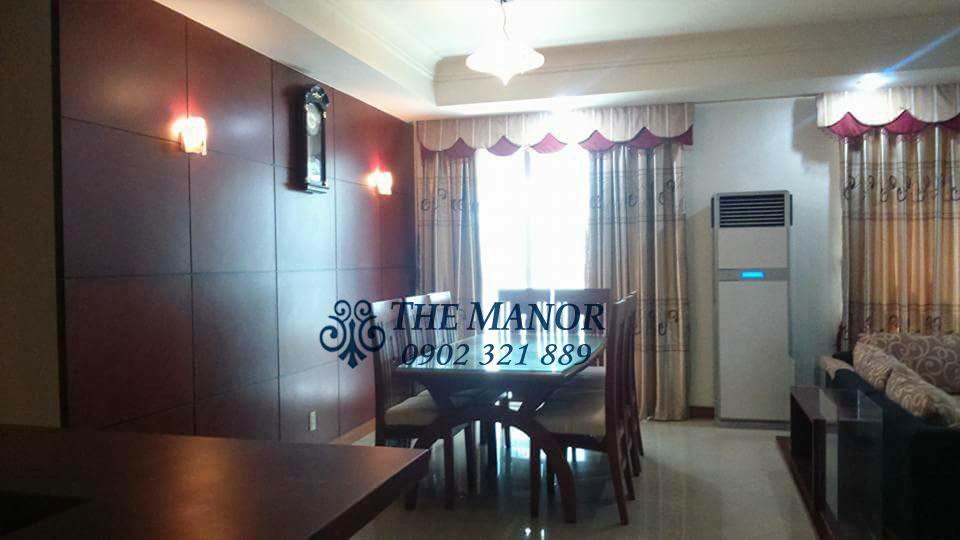 The Manor 1 HCM cho thuê căn hộ 3 phòng ngủ block AW giá rẻ bất ngờ  - hình 2
