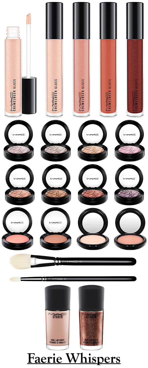 Mac color story collections face charts mac faerie whispers december 2015 nvjuhfo Gallery
