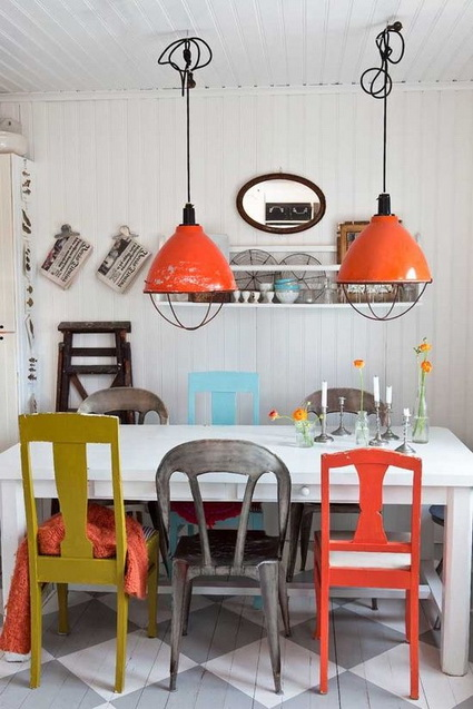 Dining Rooms With Mixed Chairs 1