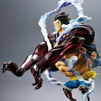 "Abierto el pre-order de Monkey D. Luffy Gear 4 Leo Bazooka de "" One Piece - Bandai"