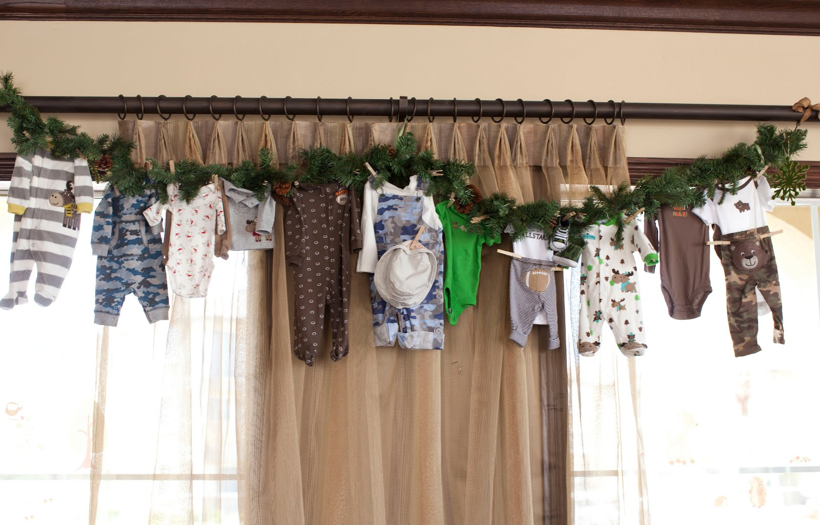 Jessica Auten Camping Themed Baby Shower