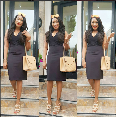 """You've Really Turned From A Thin To A BBW"": Fan Appreciates Oge Okoye's Figure"