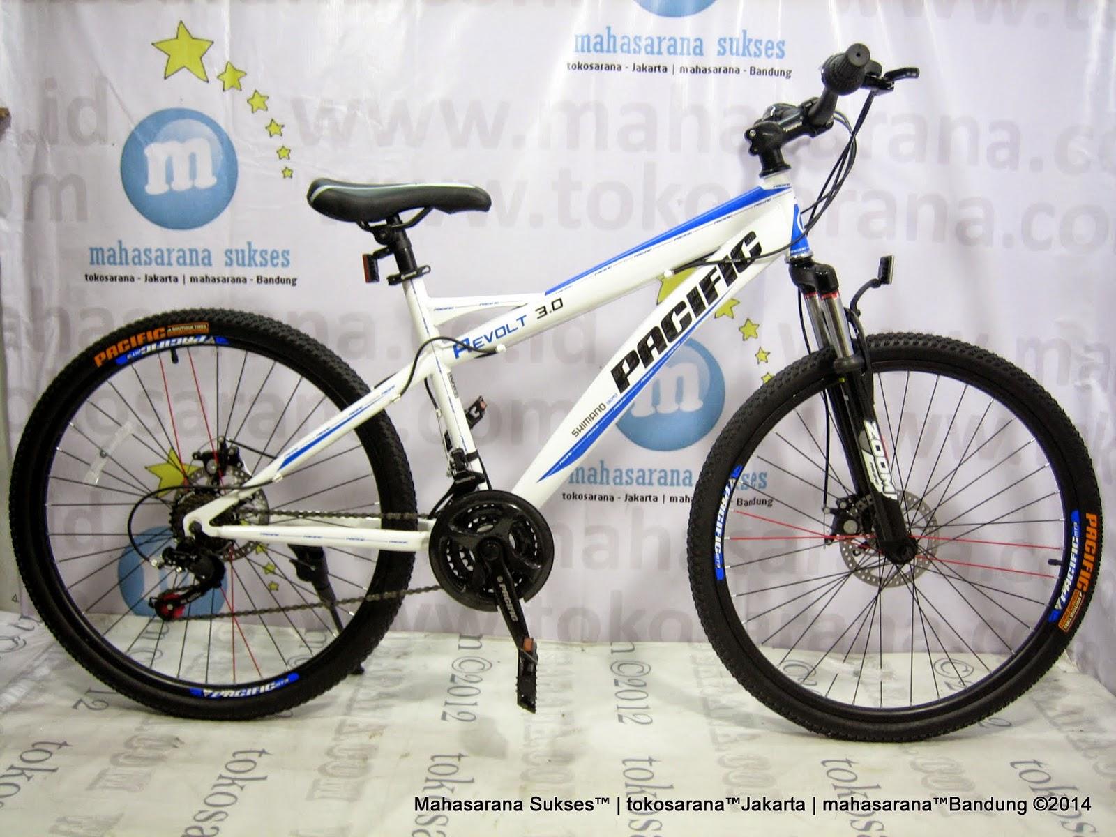 Sepeda Gunung Pacific Revolt 3.0 21 Speed 26 Inci White