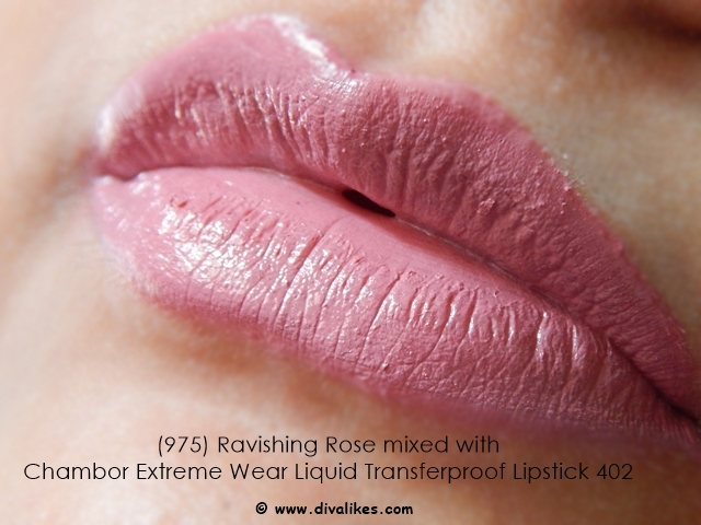 Maybelline Color Sensational Nude Lipstick Ravishing Rose 975 Lip Swatch