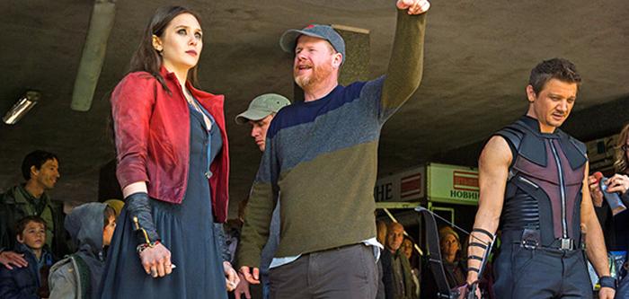 Regizorul Joss Whedon, The Scarlet Witch şi Hawkeye