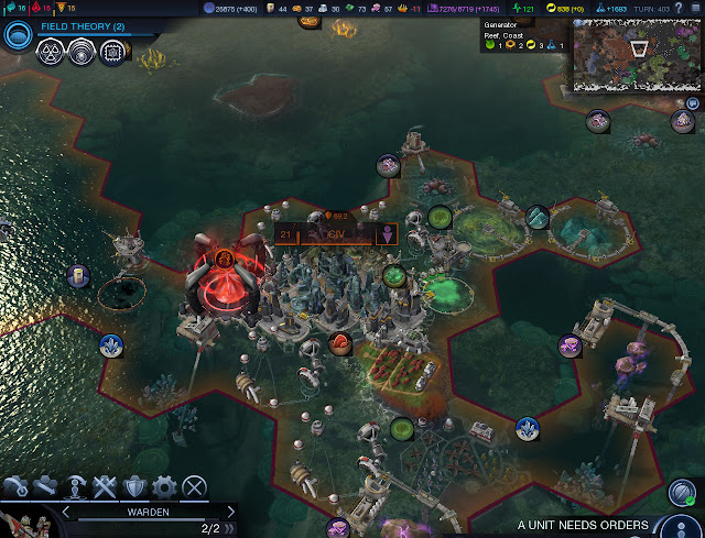 Civilization: Beyond Earth  | Water City Screenshot