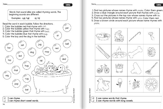 Carson Dellosa and Common Core   Time 4 Kindergarten