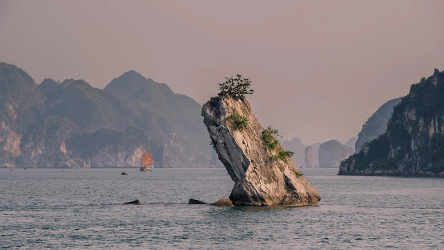 Halong Bay Majestic Between The Blue Ocean 2