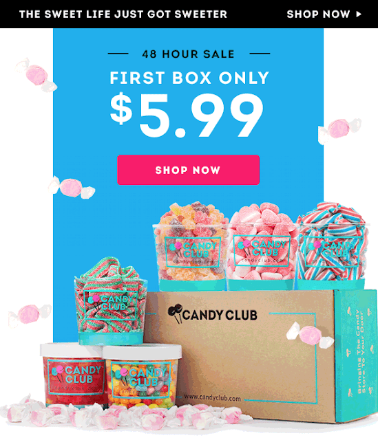 candy club 48 hour sale