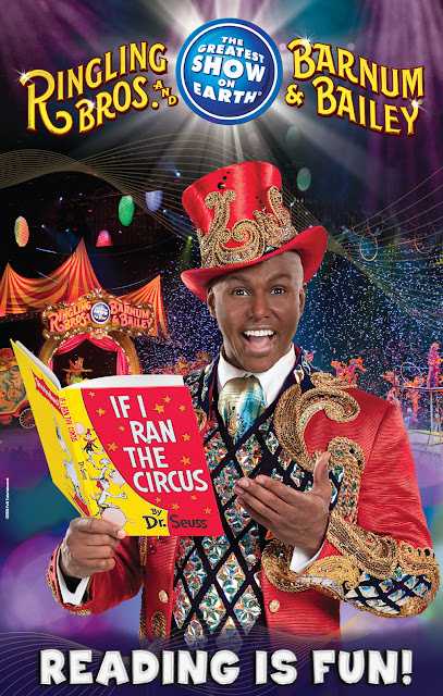 Reading with Ringling Bros. poster
