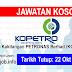 Job Vacancy at Koperasi Kakitangan PETRONAS Berhad (KOPETRO)