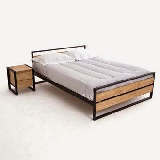 le blog de la literie et du sommeil chambre fa on industrielle 3 incontournables. Black Bedroom Furniture Sets. Home Design Ideas