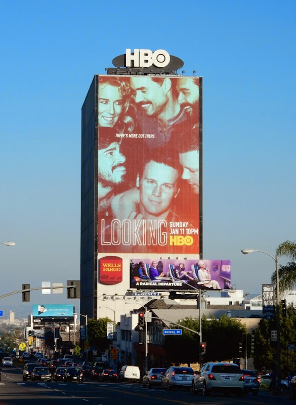 Giant Looking season 2 billboard Sunset Strip