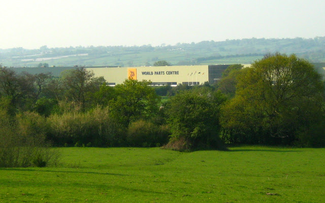 JCB Earthmovers factory at Uttoxeter