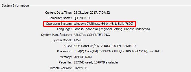 Cara Instal XAMPP di Windows 7 64 bit