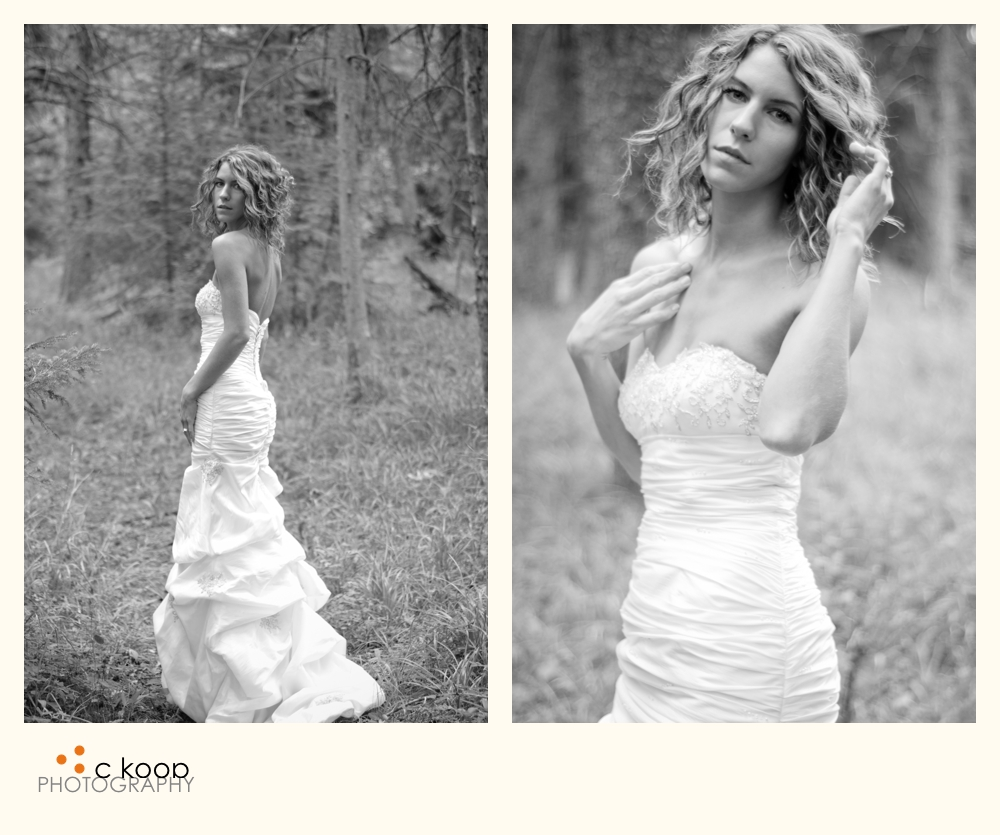 Wedding Gowns Calgary: C Koop Photography: Victoria- ROCKS Her Dress!
