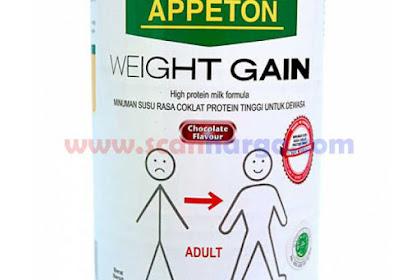 Harga Susu Appeton Weight Gain Terbaru Juli 2019